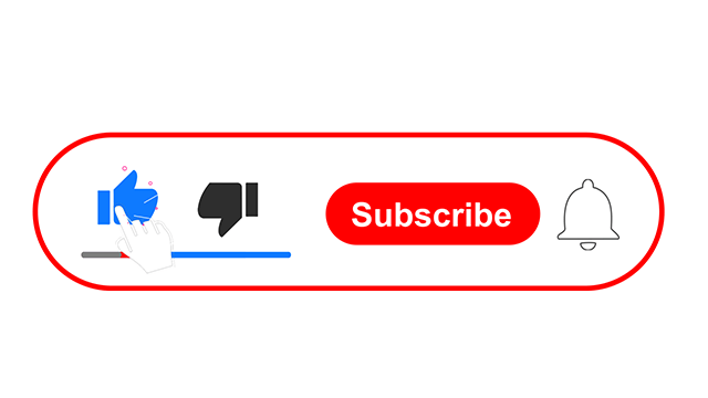 Subscribe button free after Effects Template