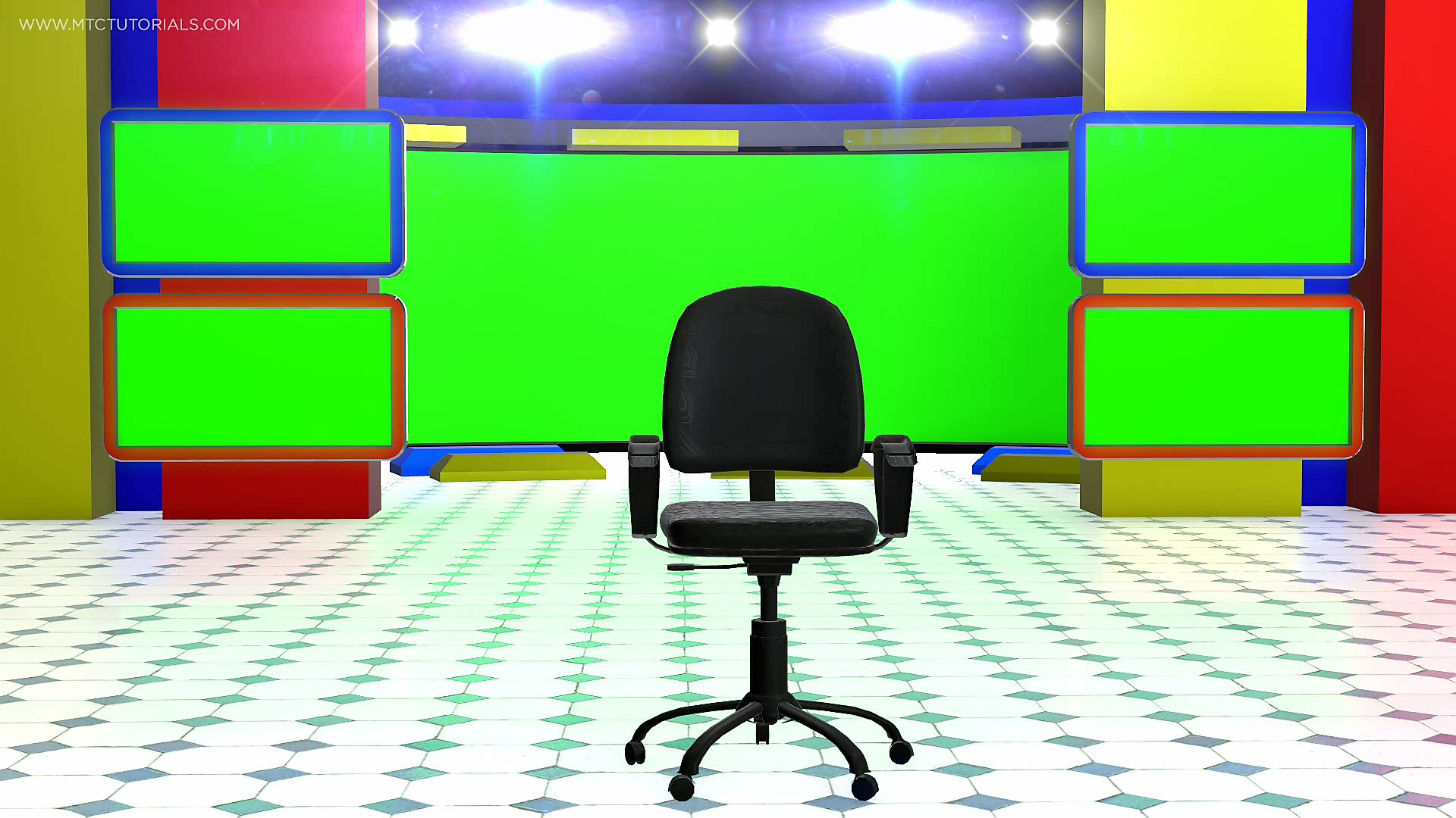 News Desk Free Wallpapers Green Screen By MTC Tutorials