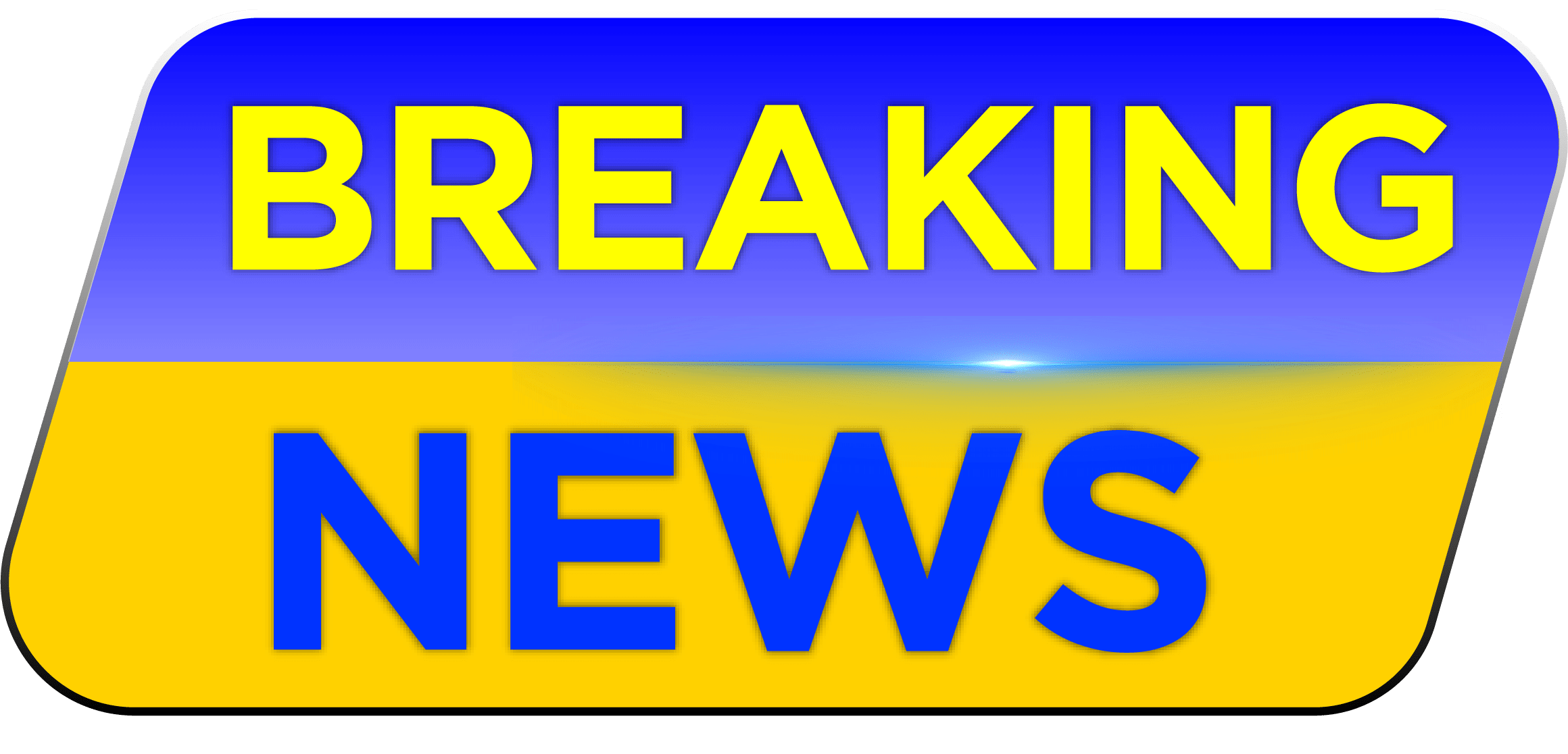 Download Breaking News Sticker High Quality PNG Graphic - MTC TUTORIALS