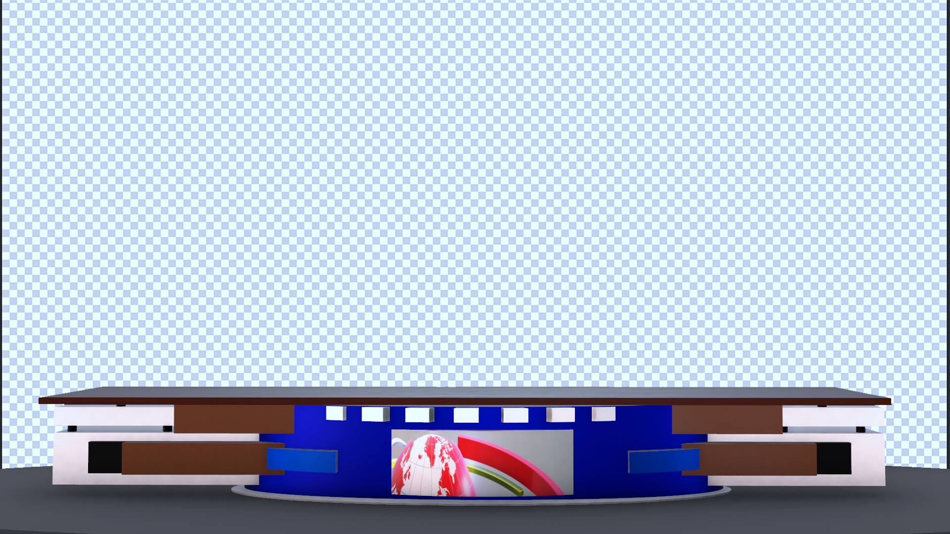 Virtual Studio News Desk Free Png images