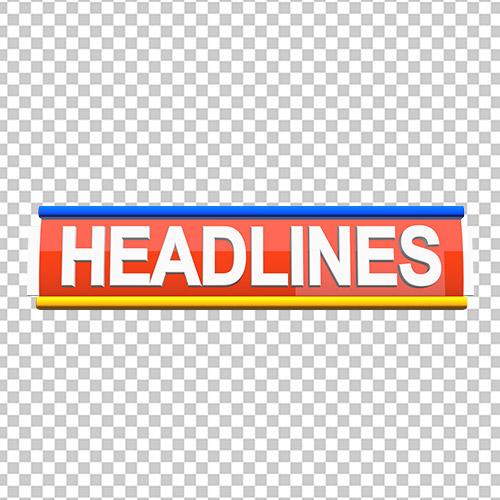 Headlines News channel template free png images download by mtc tutorials