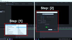 Creating a new solid in Adobe After Effects mtc tutorials