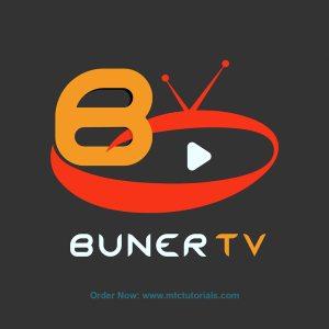 Buner tv logo design by mtc tutorials