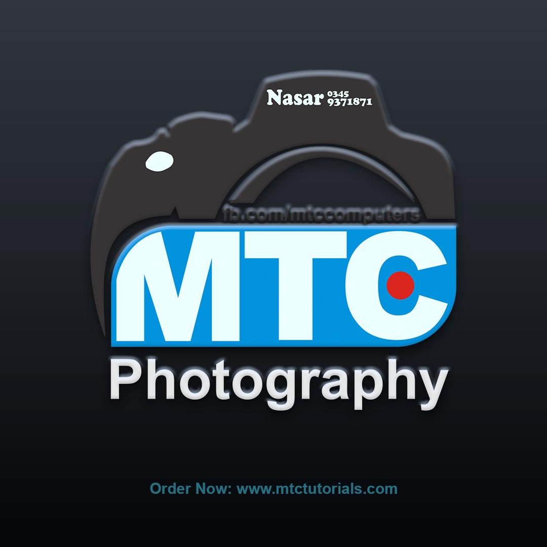 MTC Photography logoby mtc tutorials and mtc vfx create online logo order now