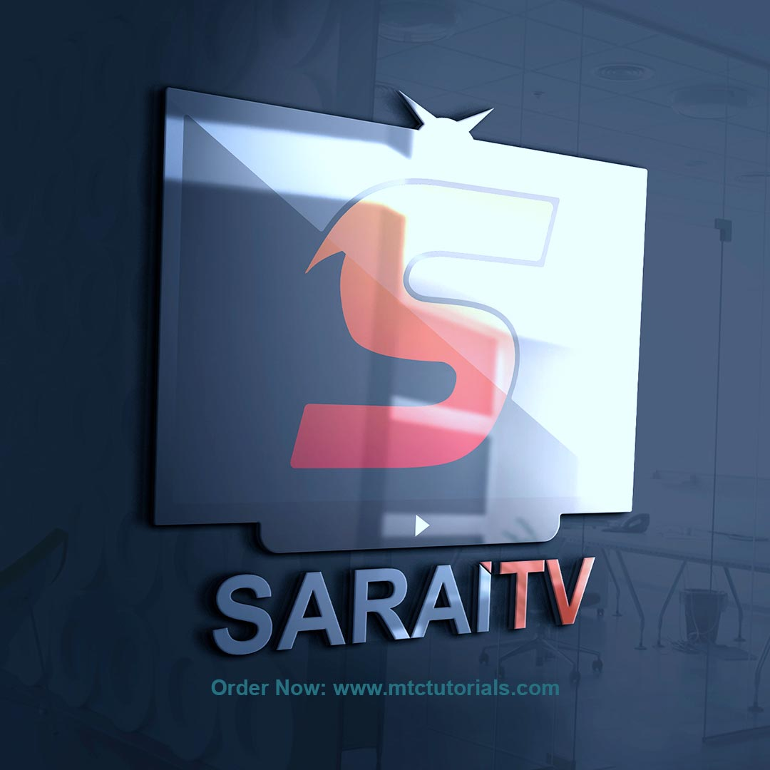 STV log design sarai tv by mtc tutorials