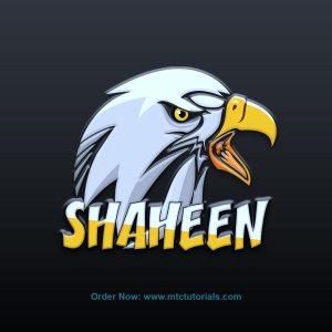 Shaheen logo created by MTC Tutorials