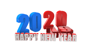 Happy new year png clipart, backgrounds free download