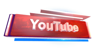 YouTube 3D png