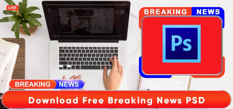 Breaking news FREE PSD