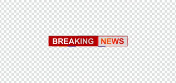 Breaking news ticker png