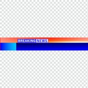 Free breaking news ticker png