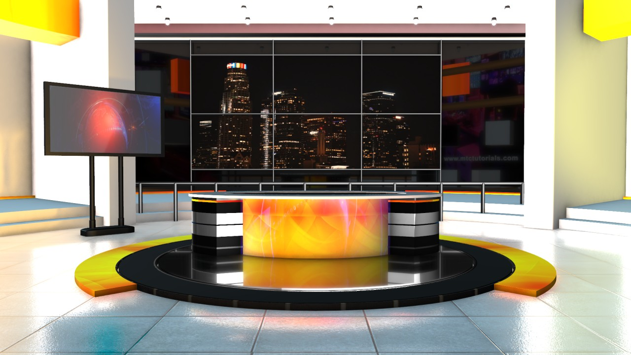 HD News studio backgrounds