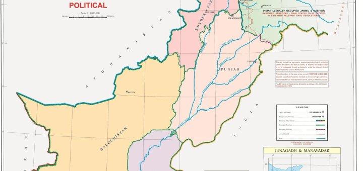 Pakistan new map