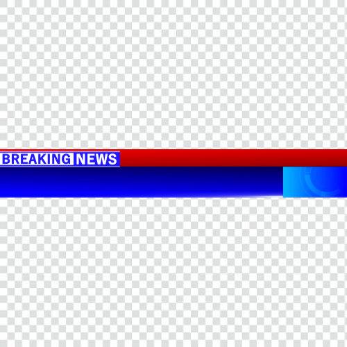 Png breaking news ticker