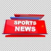 Sports news transparent png images