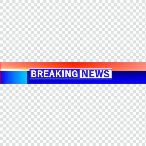 Ticker png breaking news