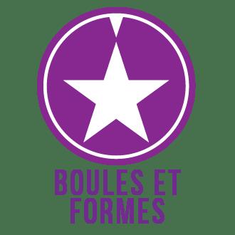 Logo catégorie boules et formes