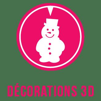 Logo catégorie décorations 3D