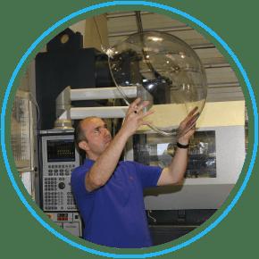 Contrôle qualité des boules transparentes MT DECO