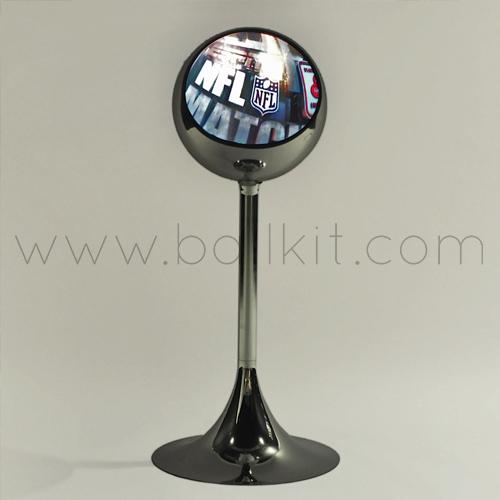 Création boule miroir artistique