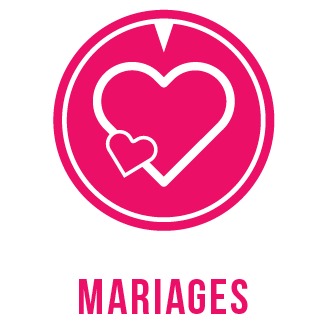 Décorations de mariage