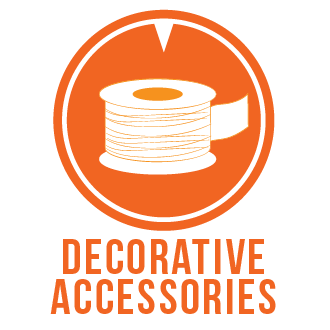 Decorative accessories icon