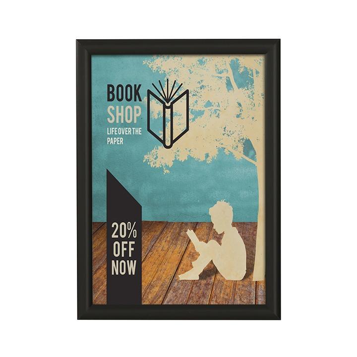 gold poster snap frames 32mm 30 x 20 labels index dividers stamps ecog sign poster kits