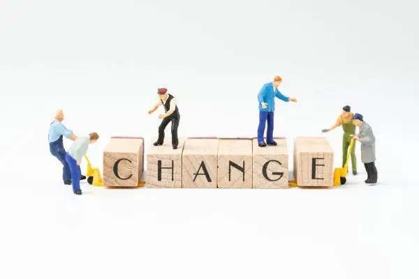 Business change building blocks