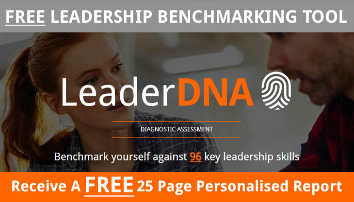 LeaderDNA button