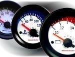 Manometro Temperatura Olio Analogico a Diffusione Road Italia - Serie Nido D'ape - 52mm