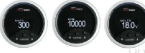 Manometro OBD2 - Contagiri, Contakm, Voltmetro, Temp. Acqua - Depo Racing - 52mm