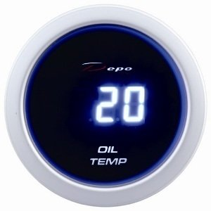 Manometro Temperatura Olio Digitale - Depo Racing - 52mm