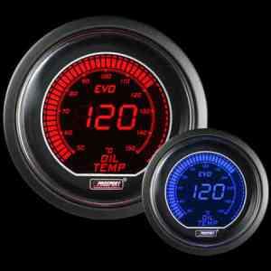 Manometro Temperatura Olio Digitale - Prosport Serie Evo - 52mm