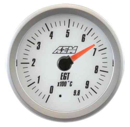 Manometro Temperatura Gas di Scarico Analogico – AEM – 52mm