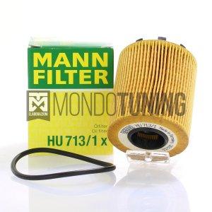 HU7131X filtro olio mann filter grande punto abarth evo tjet multiair fiat alfa romeo lancia mondotuning mtelaborazioni mann-filter