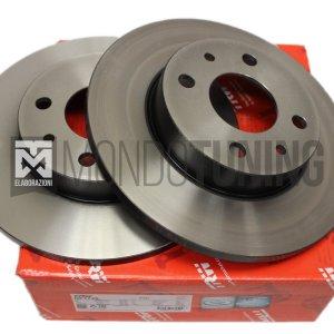 DF1745 coppia dischi freni posteriori trw 500 595 695 abarth pieni 240x11mm mondotuning mtelaborazioni