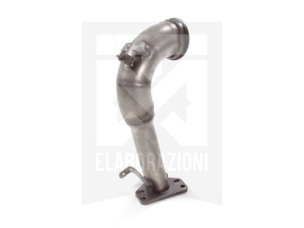 55.0537.00 Abarth Grande Punto + Evo (typ199) Evo Abarth 1.4 Turbo Multiair (120kW) 10/2009>> 8056326977467 Ragazzon Evo Line Tubo sostituzione catalizzatore Gr. N inox