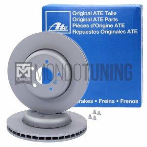 24.0122-0147.1 coppia dischi freno anteriori ate original 500 595 695 abarth 284x22mm anteriori autoventilati mondotuning mtelaborazioni