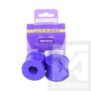 PFF16-503-20 boccole barra stabilizzatrice anteriore ant powerflex 20mm classic line viola 500 595 695 abarth mondotuning mtelaborazioni