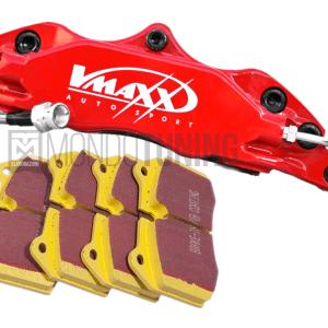 pastiglie freno ebc yellow big brake kit impianto frenante maggiorato v-maxx 330mm 500 595 695 abarth mondotuning mtelaborazioni ricambio