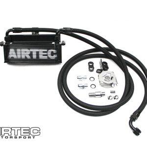 ATOILFO4 kit radiatore olio aggiuntivo raffreddamento maggiorato tubazioni tubi treccia ford fiesta mk7 st180 st 180 airtec motorsport mondotuning mtelaborazioni