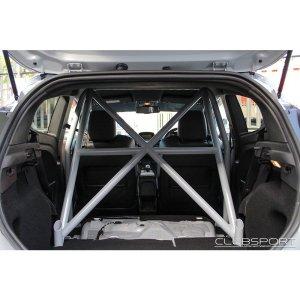 ASCCAGE1 roll cage rollcage rollbar bar posteriore post bagagliaio ford fiesta mk7 st180 st200 acciaio fia tuning time attack autospecialist clubsport airtec mondotuning mtelaborazioni