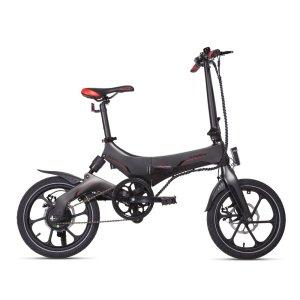 """bici e-bike ebike elettrica pieghevole foldable macrom motore 250w portofino porto fino M-EBK16F 5390482400029 16"""" magnesio mtelaborazioni mondotuning micromobilità micro mobilità lecco garlate rivenditore"""
