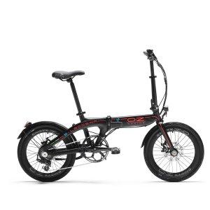 e-bike ebike bici elettrica pieghevole foldable oz racing e-leggera e leggera eleggera 50km autonomia mtelaborazioni rivenditori garlate lecco mondotuning