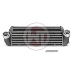 Competition Intercooler Kit  EVO 1 BMW F20 F30 BMW M2 F87 BMW M2 F87 200001046 wagner wagnertuning mondotuning mtelaborazioni The Competition Intercooler EVO I has the following core dimensions (520mm x210mm x130mm /stepped). The high performance intercooler core provides a 64% larger frontal area and 60% more volume compared to the stock mounted intercooler. Our engineers have increased the intercooler core size and efficiency