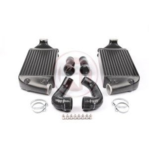 Performance Intercooler Kit Porsche 997/2 Porsche 997 Turbo S Porsche 997 Turbo S 200001075 wagner wagnertuning mondotuning mtelaborazioni The Wagner Tuning Porsche 997 911 Turbo (S) Intercooler Kit is a high performance redesign of the original OEM intercooler designed specifically for the 997TT Tuning Enthusiast. Our engineers have increased the intercooler core size and efficiency