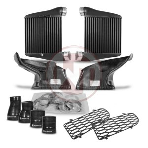 Comp. Intercooler Kit EVO2 Audi A4 RS4 B5 Audi RS4 B5 Audi RS4 B5 200001140 wagner wagnertuning mondotuning mtelaborazioni The new designed Competition EVO2 Intercooler Kit for Audi RS4 B5.The WAGNERTUNING high-performance intercooler has got a new competition core (latest Tube-Fin-Technology) with the dimensions 255 mm x 260 mm x 120 mm (7.95 liters) / 10