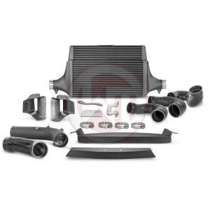 Comp. IC Kit + Intake + Pipe Kia Stinger GT (EU) Kia Stinger Kia Stinger GT 3.3 BiTurbo 200001142.AIRPIPE wagner wagnertuning mondotuning mtelaborazioni COMPETITION INTERCOOLER KIT Kia Stinger GT 3.3T-Gdi AWD  RWD (EU)The WAGNERTUNING high-performance intercooler has got a new competition core (Tube Fin) with the dimensions 600 mm x 445(315) mm x 105(60) mm / 23