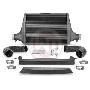 Comp. Intercooler Kit Kia Stinger GT (EU) Kia Stinger Kia Stinger GT 3.3 BiTurbo 200001142.KITSINGLE wagner wagnertuning mondotuning mtelaborazioni COMPETITION INTERCOOLER KIT Kia Stinger GT 3.3T-Gdi AWD  RWD (EU)The WAGNERTUNING high-performance intercooler has got a new competition core (Tube Fin) with the dimensions 600 mm x 445(315) mm x 105(60) mm / 23