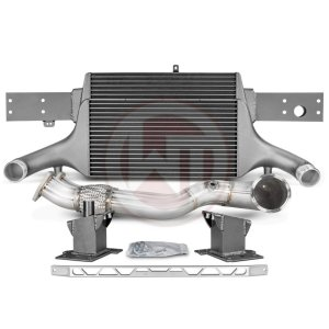 Comp. Package EVO3 RS3 8V without cat pipes Audi Audi RS3 Audi RS3 8V 700001066.ACC wagner wagnertuning mondotuning mtelaborazioni The competition package for theAudi RS3 8V Sportback/Sedan 294KW/400PS (08/2017+) consists of the Intercooler Upgrade Kit EVO3 and the Downpipe Kit.Intercooler Upgrade Kit 200001081The high performance intercooler has the following core dimension (515mm x 367mm x 95mm = 16